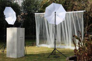 מסך לבן לחתונה